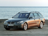 Pictures of BMW 545i Touring (E61) 2004–05