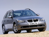 Pictures of BMW 525i Touring UK-spec (E61) 2004–07