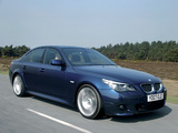 Pictures of BMW 535d Sedan M Sports Package UK-spec (E60) 2005