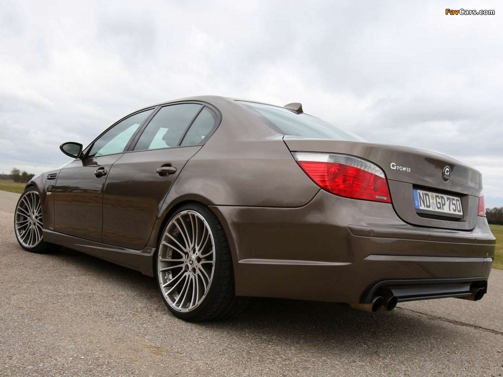 Pictures of G-Power Hurricane (E60) 2008 (1024 x 768)