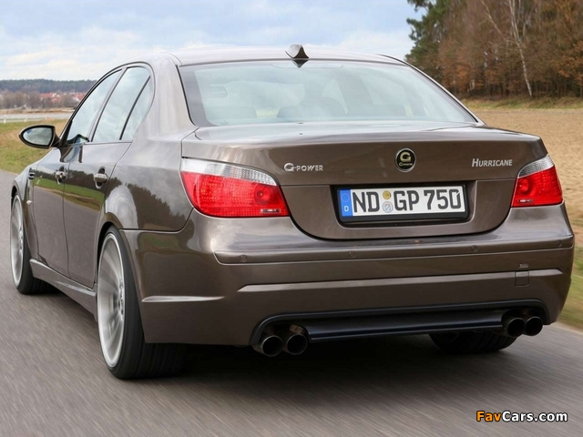 Pictures of G-Power Hurricane (E60) 2008 (640 x 480)