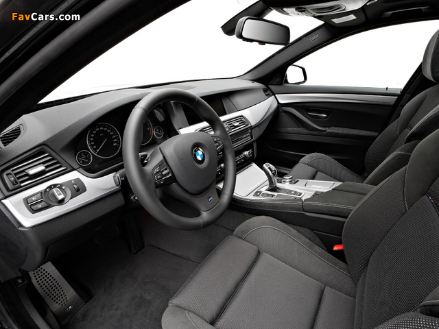Pictures of BMW 535d Sedan M Sports Package (F10) 2010–13 (640 x 480)
