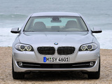 Pictures of BMW 530d Sedan (F10) 2010–13