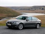 Pictures of BMW 535i Sedan UK-spec (F10) 2010