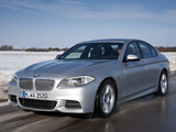 Pictures of BMW M550d xDrive Sedan (F10) 2012