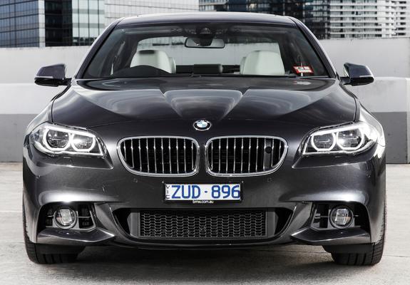 Of BMW I Sedan M Sport Package AUspec F - 2013 bmw 550i m sport