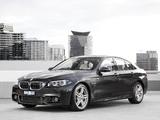 Pictures of BMW 550i Sedan M Sport Package AU-spec (F10) 2013