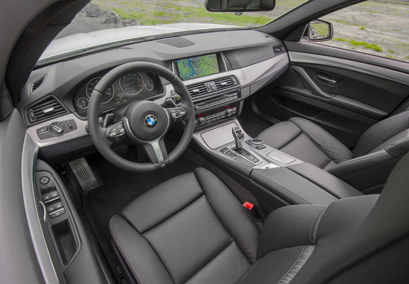 Pictures Of Bmw 535d Sedan M Sport Package Us Spec F10 2013