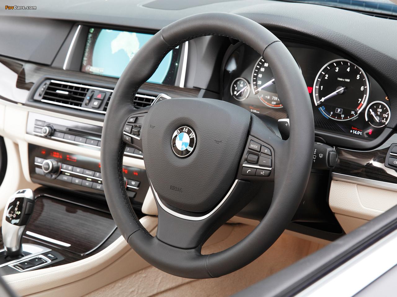 Pictures of BMW 520i Sedan AU-spec (F10) 2013 (1280 x 960)