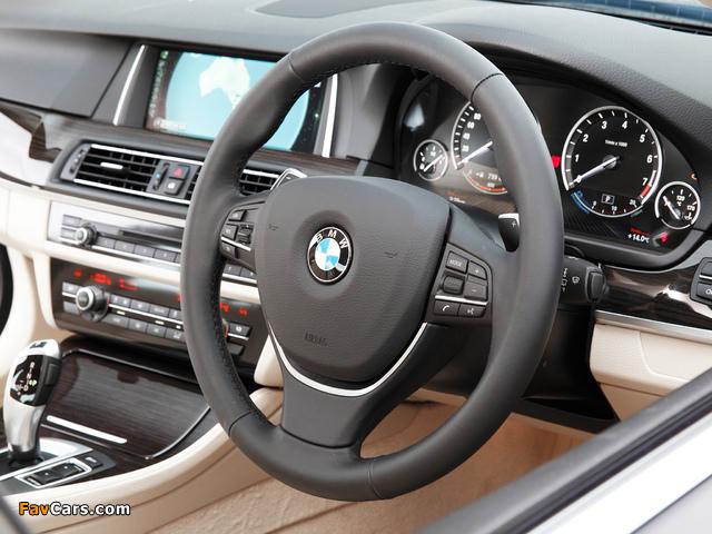 Pictures of BMW 520i Sedan AU-spec (F10) 2013 (640 x 480)
