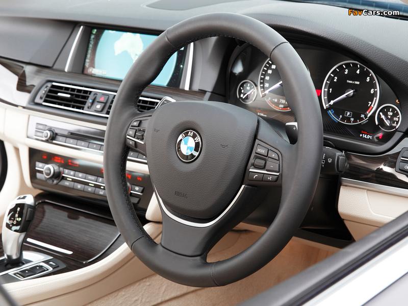 Pictures of BMW 520i Sedan AU-spec (F10) 2013 (800 x 600)