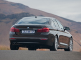 Pictures of BMW 520i Sedan Luxury Line ZA-spec (F10) 2013