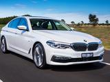 Pictures of BMW 520d Sedan Luxury Line AU-spec (G30) 2017