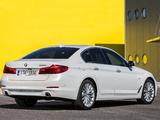 Pictures of BMW 520d Sedan Luxury Line (G30) 2017