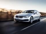Pictures of BMW 520d SE Sedan UK-spec (G30) 2017