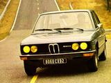 Pictures of BMW 520 Sedan (E12) 1972–76