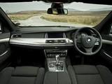 BMW 5 Series Gran Turismo M Sport Package UK-spec (F07) 2011–13 wallpapers