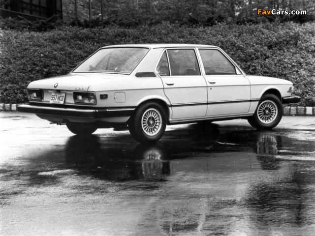 BMW 528i Sedan US-spec (E12) 1978–81 wallpapers (640 x 480)