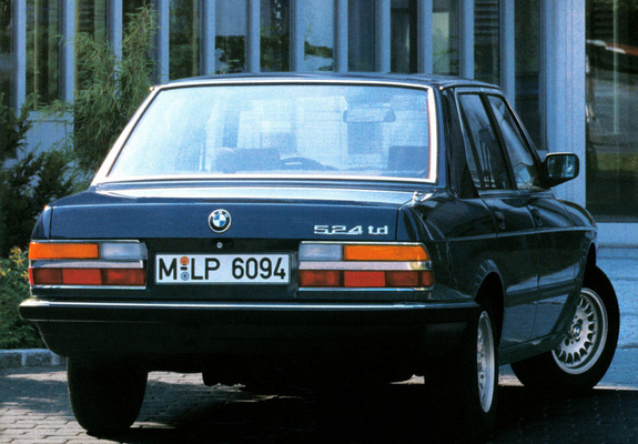 Bmw 524td E28 198387 Wallpapers