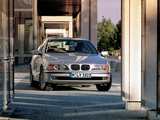 BMW 540i Sedan (E39) 1996–2000 wallpapers