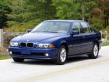 BMW 540i Sedan US-spec (E39) 1996–2003 wallpapers