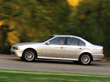 BMW 530i Sedan US-spec (E39) 2000–03 wallpapers
