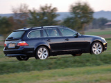 BMW 530xd Touring (E61) 2005–07 wallpapers