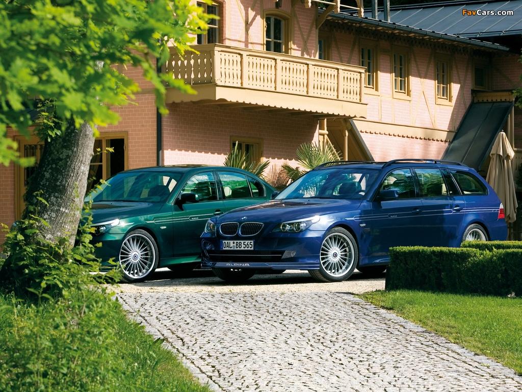 Alpina BMW 5 Series (E60-E61) 2005–10 wallpapers (1024 x 768)