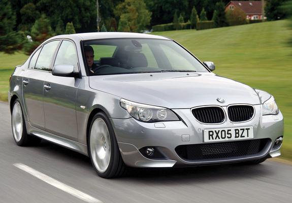 BMW 520d Sedan M Sports Package UK Spec E60 2005 Wallpapers