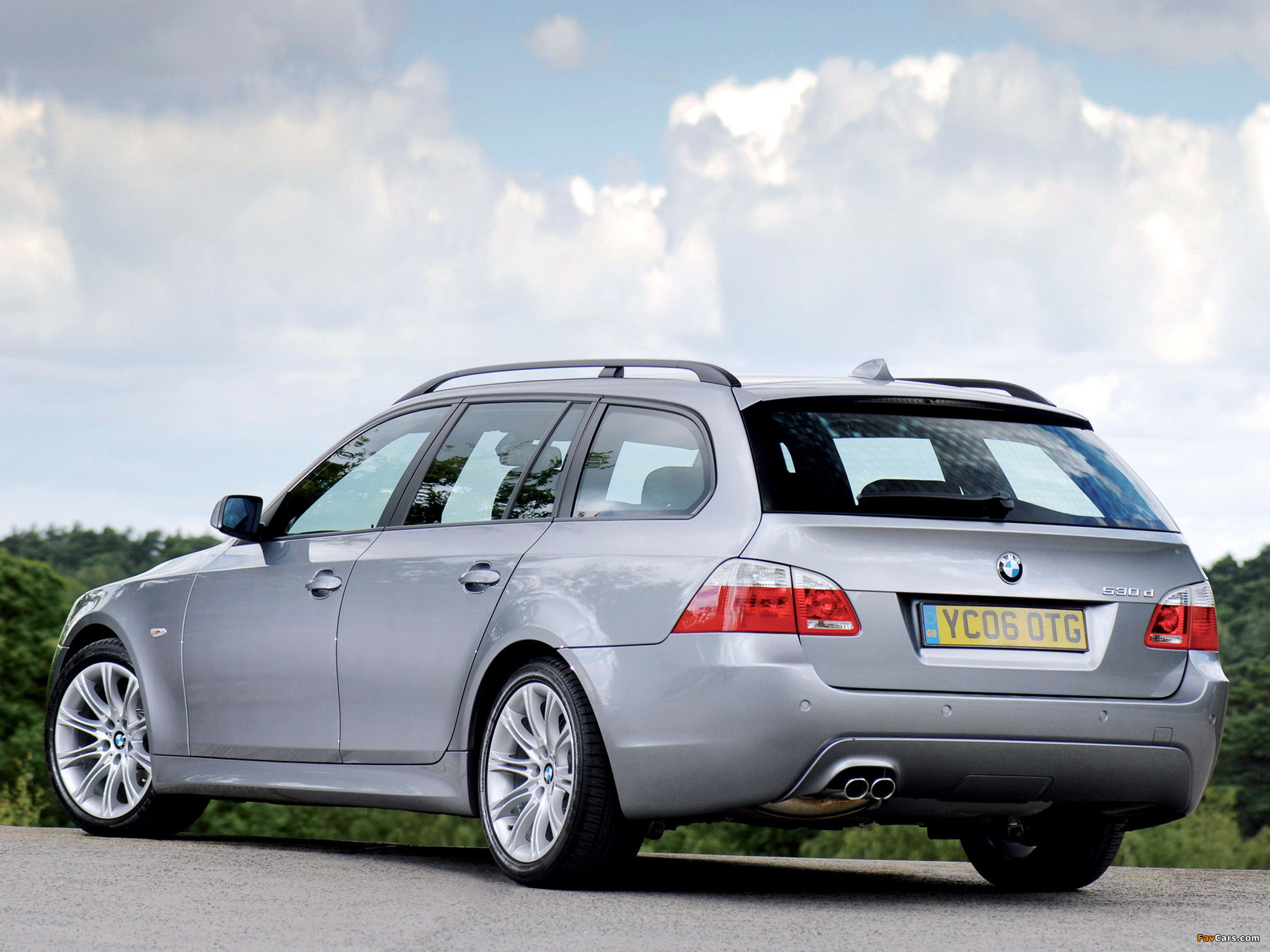 BMW 530d Touring M Sports Package UK-spec (E61) 2005 wallpapers ...