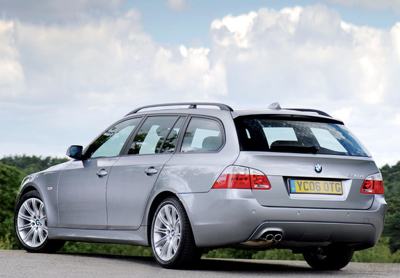 Bmw 530d Touring M Sports Package Uk Spec E61 2005 Wallpapers