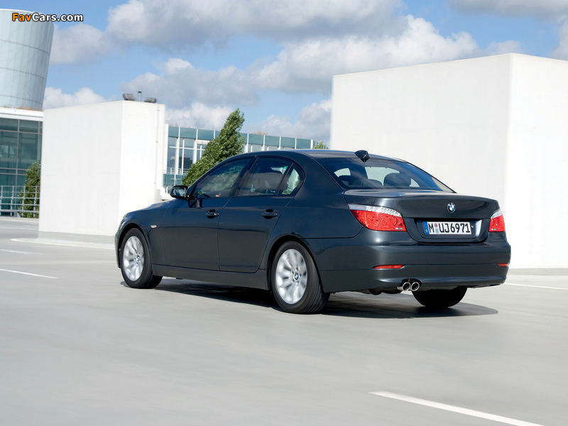 BMW 5 Series Security (E60) 2008–10 wallpapers (800 x 600)
