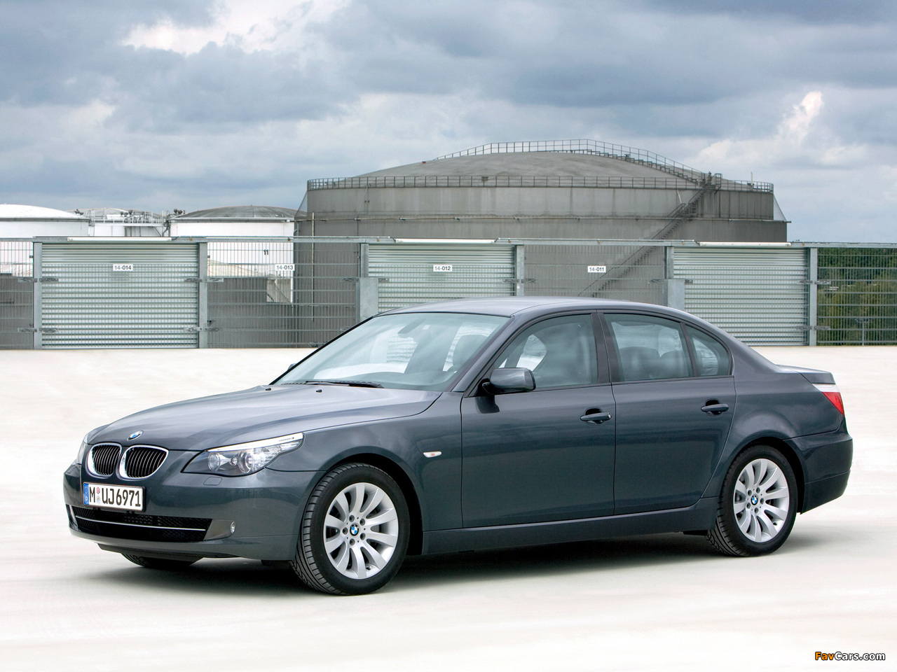 BMW 5 Series Security (E60) 2008–10 wallpapers (1280 x 960)