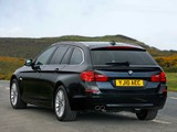 BMW 525d Touring UK-spec (F11) 2010 wallpapers