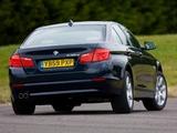 BMW 530d Sedan UK-spec (F10) 2010 wallpapers