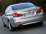 BMW 518d Sedan (F10) 2013 wallpapers