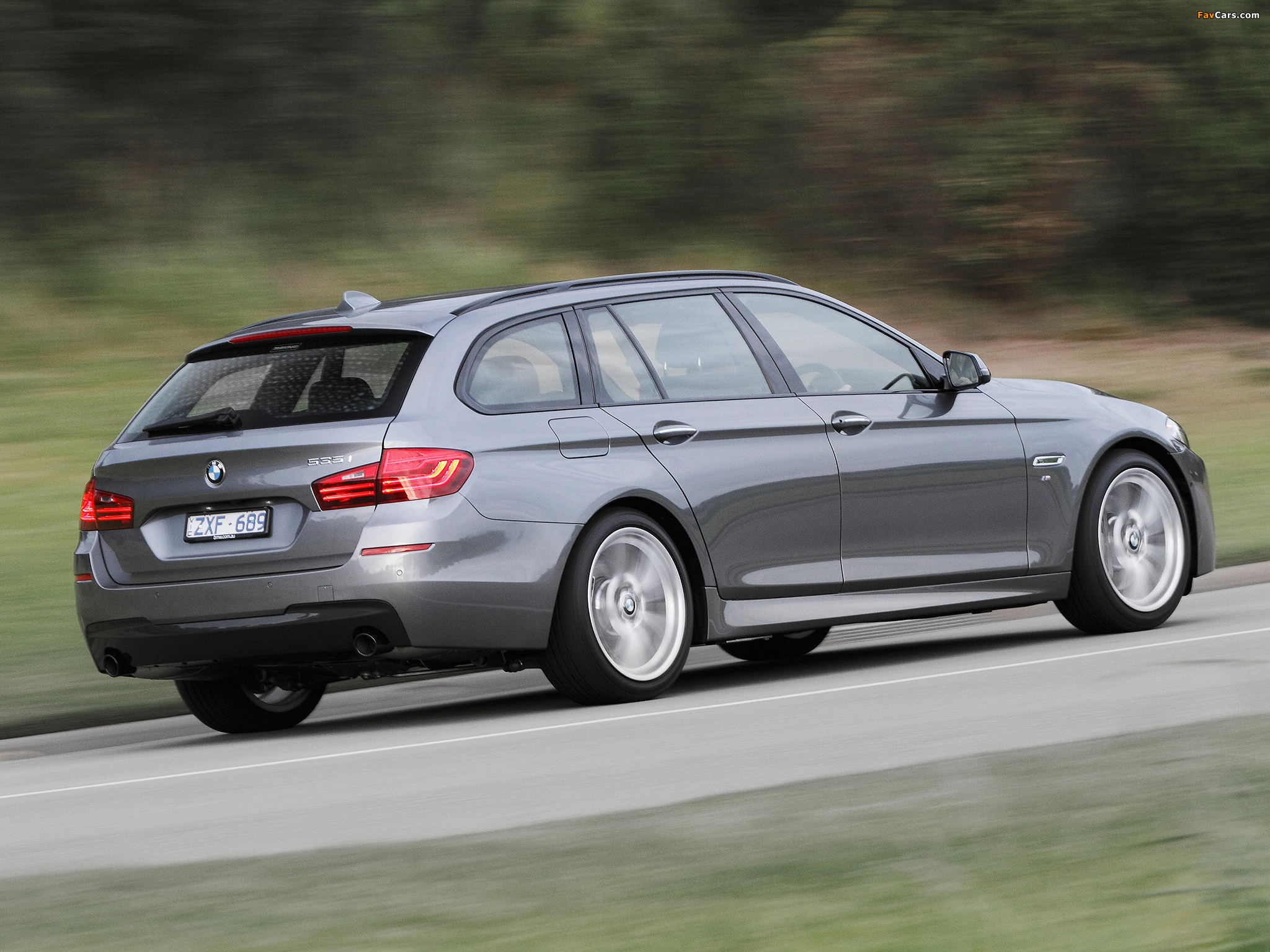 BMW 535i Touring M Sport Package AU Spec F11 2014 Wallpapers 2048