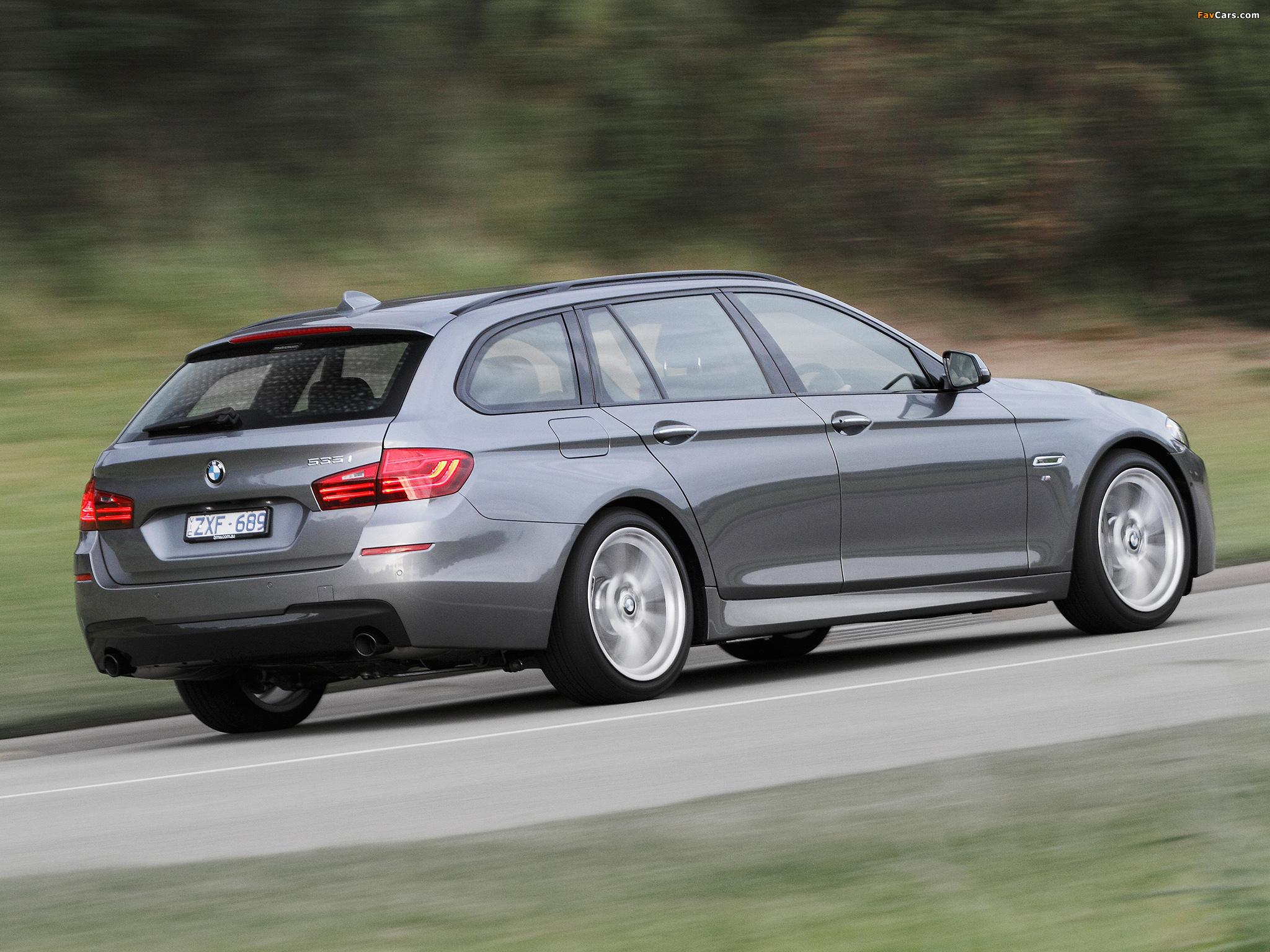 BMW 535i Touring M Sport Package AU-spec (F11) 2014 ...
