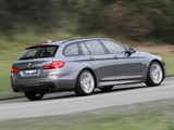 BMW 535i Touring M Sport Package AU-spec (F11) 2014 wallpapers