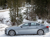 BMW 530d xDrive Sedan M Sport (G30) 2017 wallpapers
