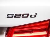 BMW 520d Sedan Luxury Line AU-spec (G30) 2017 wallpapers
