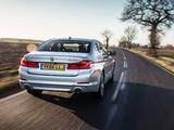 BMW 520d SE Sedan UK-spec (G30) 2017 wallpapers