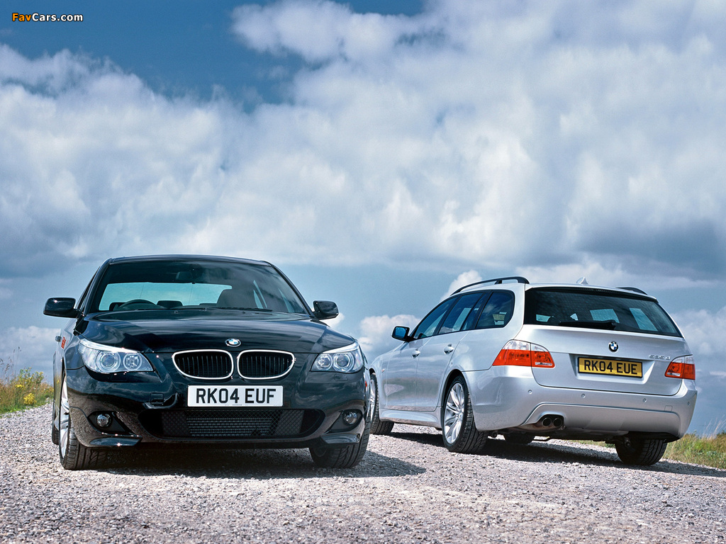 BMW 5 Series wallpapers (1024 x 768)