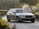 BMW 520i Touring (F11) 2011 wallpapers