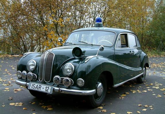 BMW 501 Polizei 1952–64 wallpapers