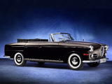 BMW 502 V8 Autenrieth Cabriolet 1960 wallpapers