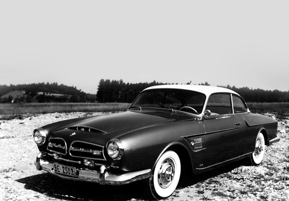 Images of BMW 502 Coupe by Beutler & Co. 1956
