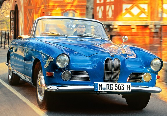 503 Cabriolet 1956–59 wallpapers