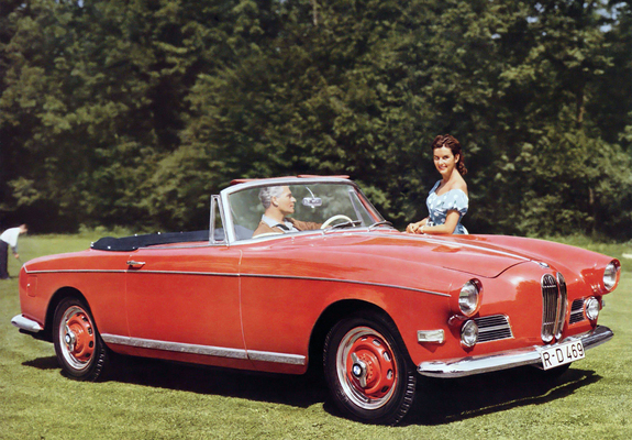 Bmw 503 Cabriolet 195659 Wallpapers