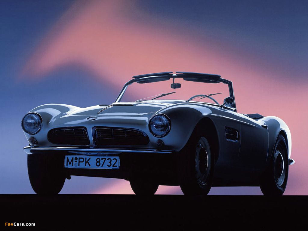 BMW 507 (Series I) 1956–57 pictures (1024 x 768)